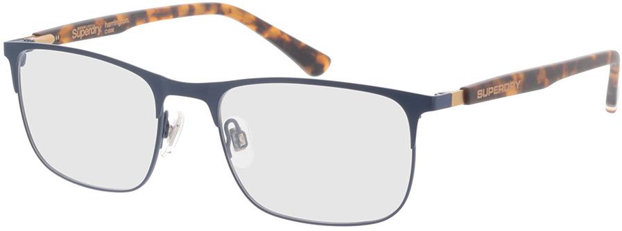 Picture of glasses model Superdry SDO Harrington 006 dark blue/havana 53-18 in angle 330