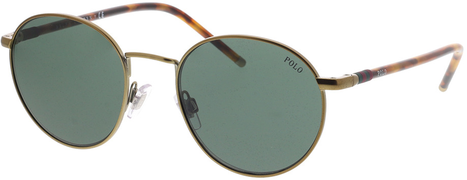 Picture of glasses model Polo Ralph Lauren PH3133 932471 51-20 in angle 330