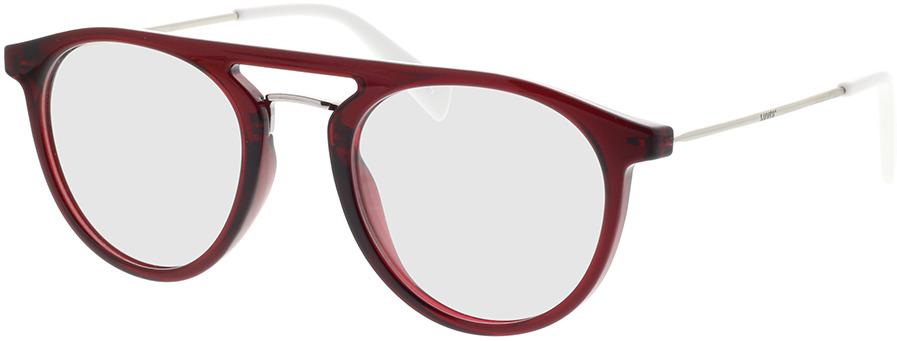 Picture of glasses model Levi's LV 1001 3KJ 49-21 in angle 330