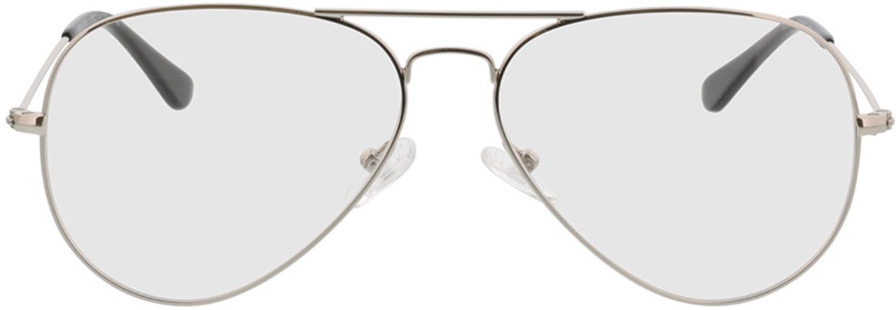 Picture of glasses model Manhattan-silber in angle 0