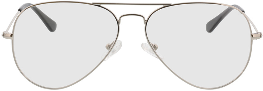 Picture of glasses model Manhattan silver in angle 0