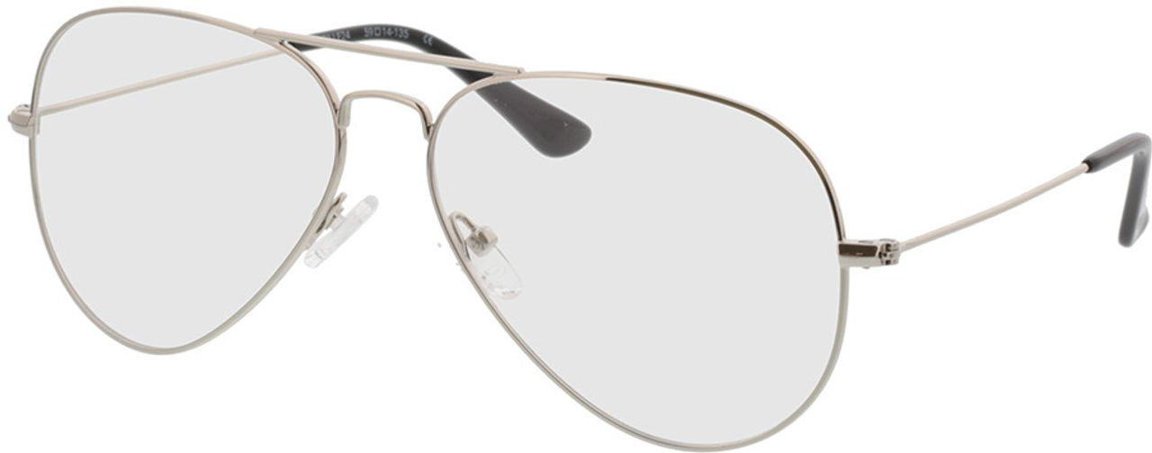 Picture of glasses model Manhattan-silber in angle 330