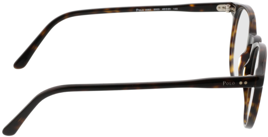Picture of glasses model Polo Ralph Lauren PH2083 5003 48-20 in angle 90