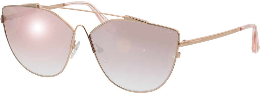 Picture of glasses model Tom Ford Jacquelyn FT0563 33Z in angle 330