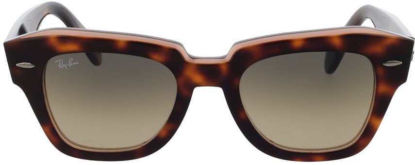 Picture of glasses model Ray-Ban RB2186 1324BG 49-20 in angle 0