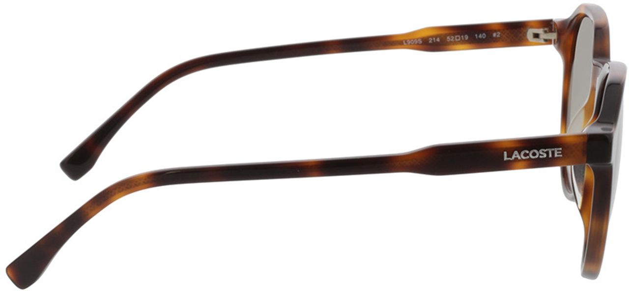 Picture of glasses model Lacoste L909S 214 52-19 in angle 90