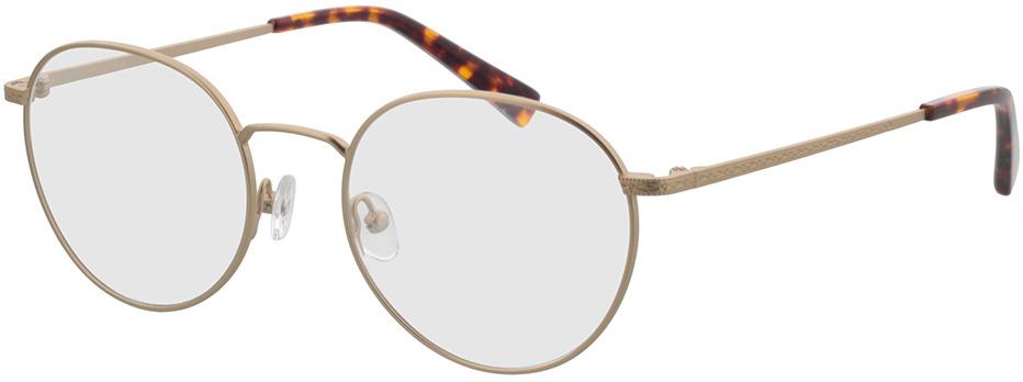 Picture of glasses model Lucas-matt gold in angle 330