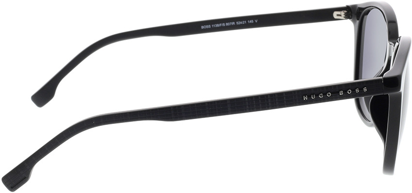 Picture of glasses model Boss BOSS 1138/F/S 807 52-21 in angle 90