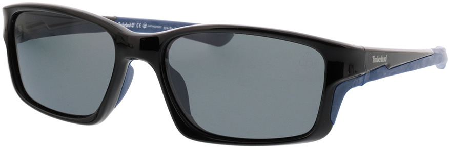 Picture of glasses model Timberland TB9172 01D 57-18 in angle 330