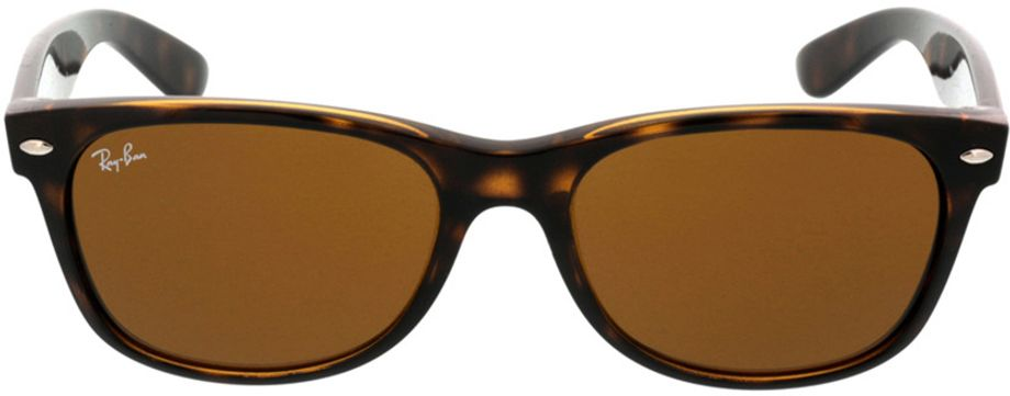 Picture of glasses model Ray-Ban New Wayfarer RB2132 710 55-18 in angle 0