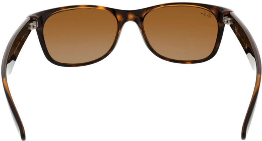 Picture of glasses model Ray-Ban New Wayfarer RB2132 710 55-18 in angle 180