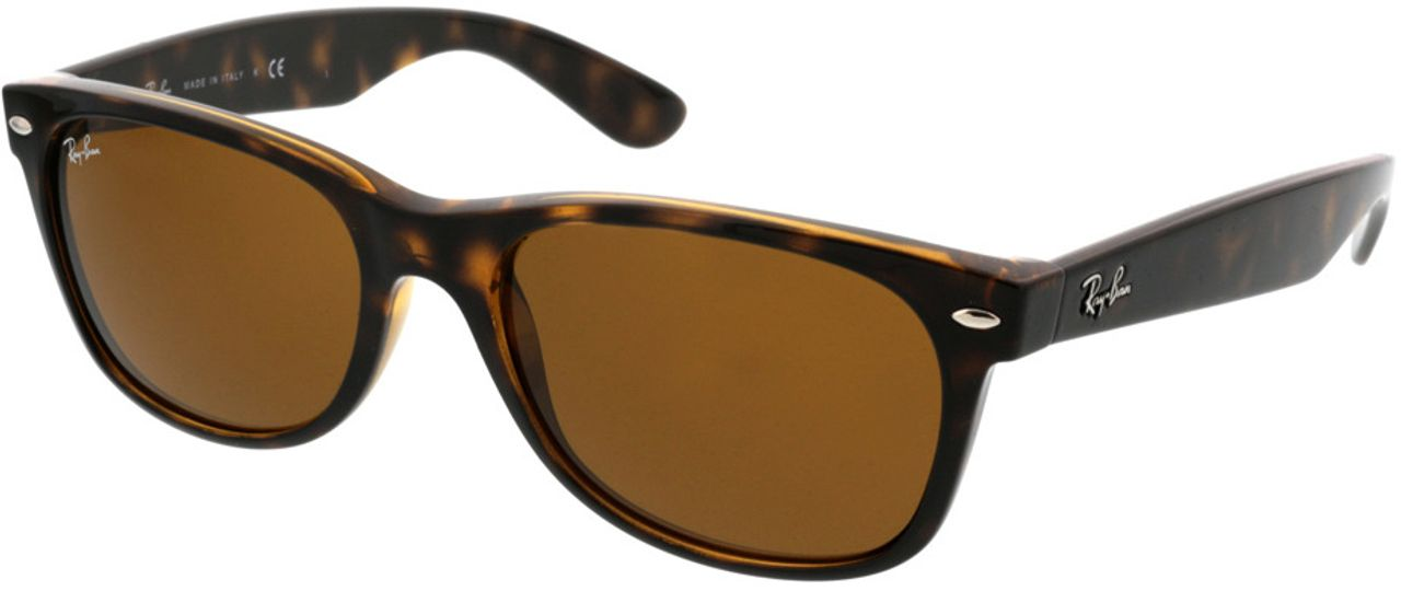 Picture of glasses model Ray-Ban New Wayfarer RB2132 710 55-18 in angle 330