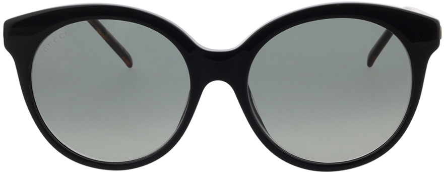 Picture of glasses model Gucci GG0653S-001 55-18 in angle 0