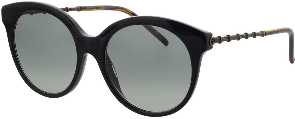 Picture of glasses model Gucci GG0653S-001 55-18 in angle 330