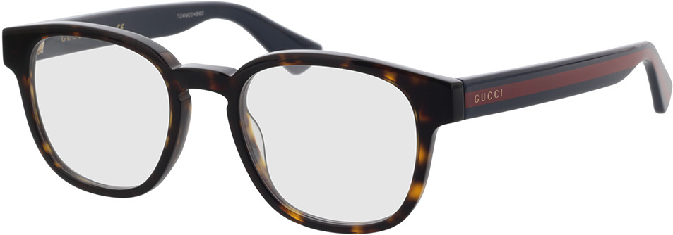 Picture of glasses model Gucci GG0927O-002 49-19 in angle 330