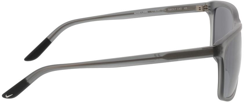 Picture of glasses model Nike NIKE LORE CT8080 021 58-17 in angle 90