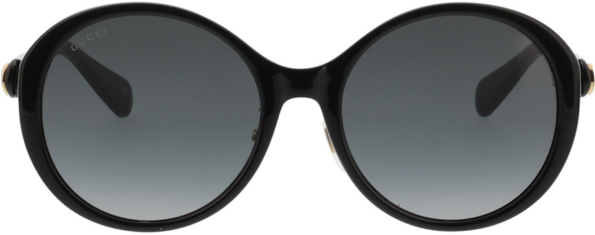 Picture of glasses model Gucci GG0370SK-001 56-19 in angle 0