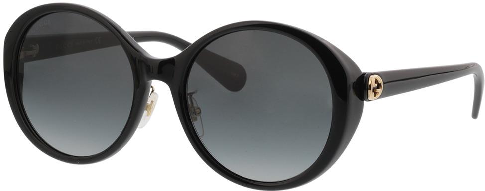 Picture of glasses model Gucci GG0370SK-001 56-19