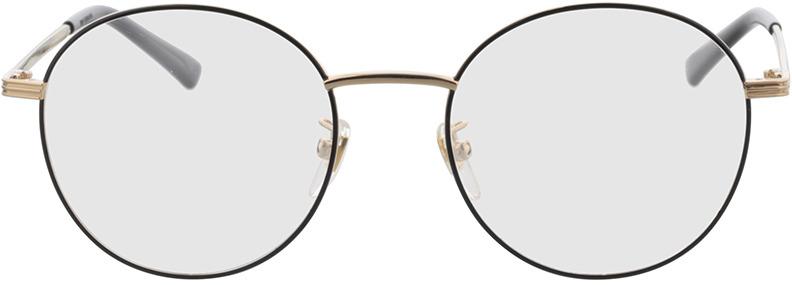 Picture of glasses model Gucci GG0839OK-001 52-19 in angle 0