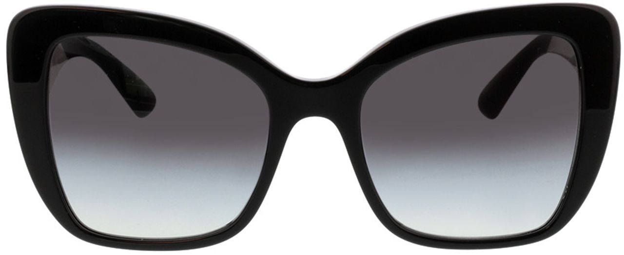 Picture of glasses model Dolce&Gabbana DG4348 501/8G 54-20 in angle 0