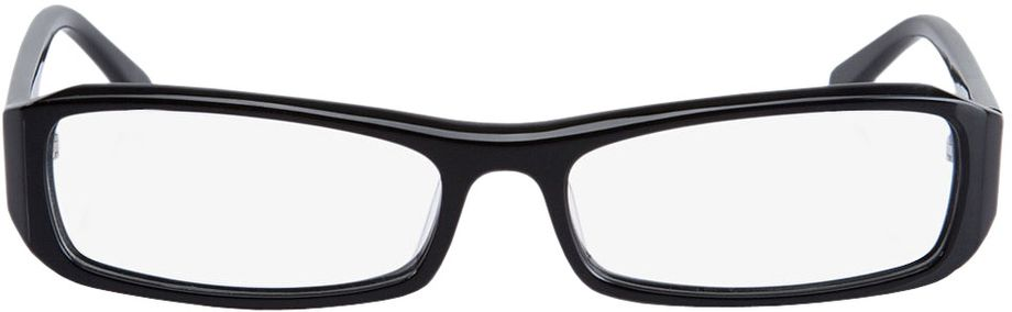 Picture of glasses model Girona-black in angle 0
