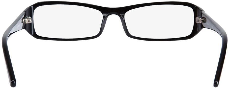 Picture of glasses model Girona-black in angle 180