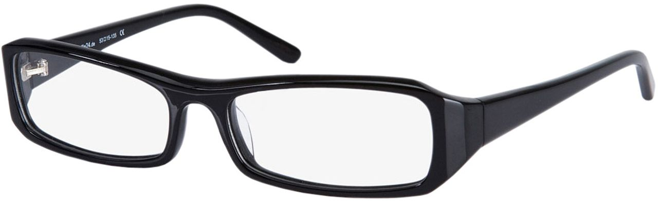 Picture of glasses model Girona-black in angle 330