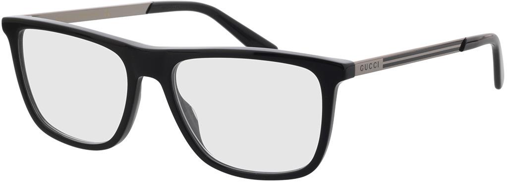 Picture of glasses model Gucci GG0691O-004 56-18 in angle 330