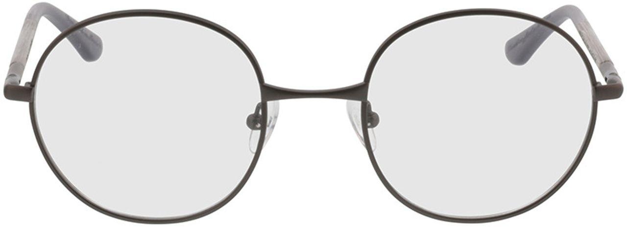 Picture of glasses model Wood Fellas Optical Nassenfels chalk oak/gunmetal 50-22 in angle 0