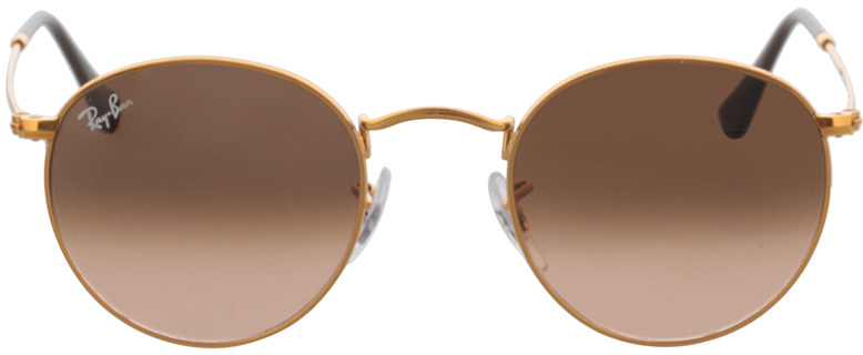 Picture of glasses model Ray-Ban Round Metal RB3447 9001A5 47-21 in angle 0