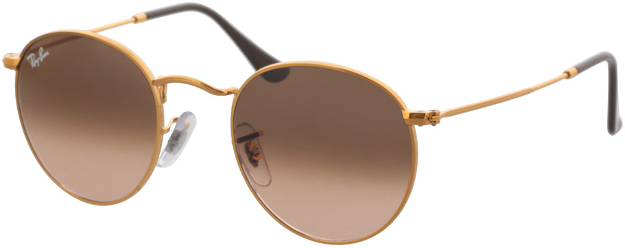 Picture of glasses model Ray-Ban Round Metal RB3447 9001A5 47-21 in angle 330