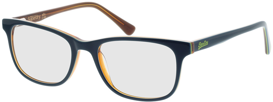 Picture of glasses model Superdry SDO Alix 188 teal 50-18 in angle 330