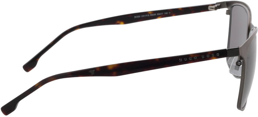 Picture of glasses model Boss BOSS 1291/F/S R80 59-17 in angle 90