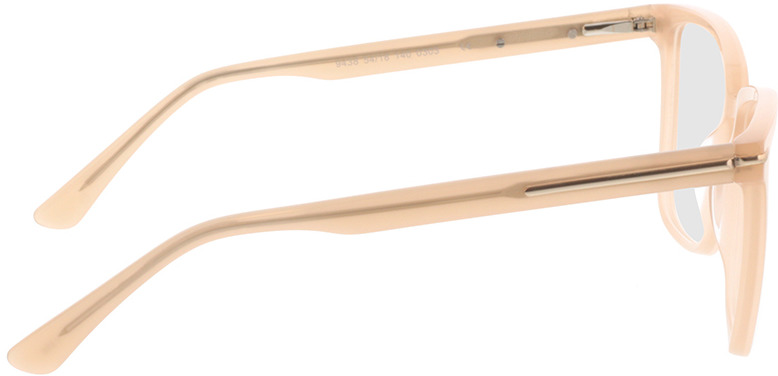 Picture of glasses model Melso-champagner in angle 90