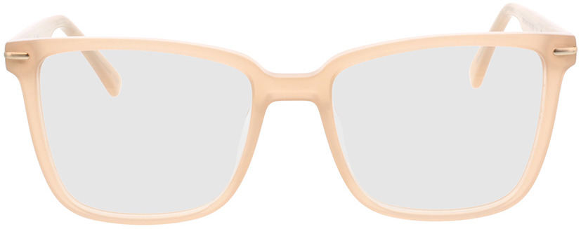 Picture of glasses model Melso-champagner in angle 0