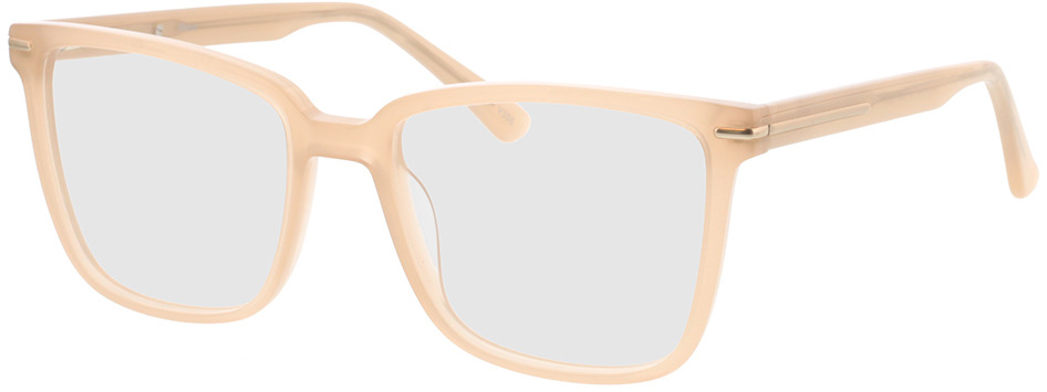 Picture of glasses model Melso-champagner in angle 330