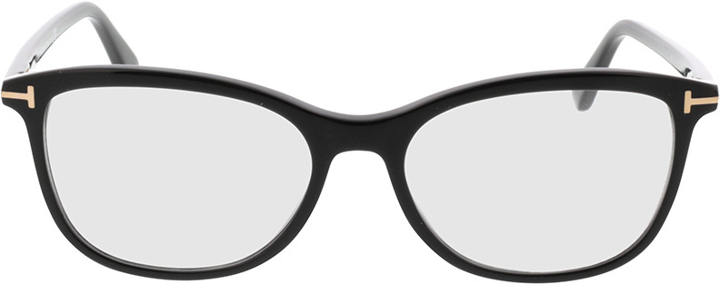 Picture of glasses model Tom Ford FT5388 001 in angle 0