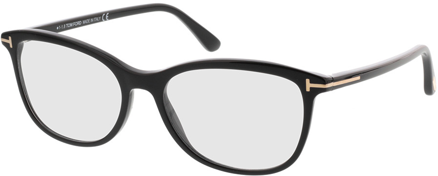 Picture of glasses model Tom Ford FT5388 001 in angle 330