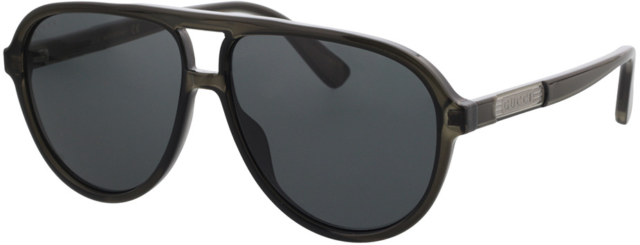 Picture of glasses model Gucci GG0935S-001 58-12 in angle 330