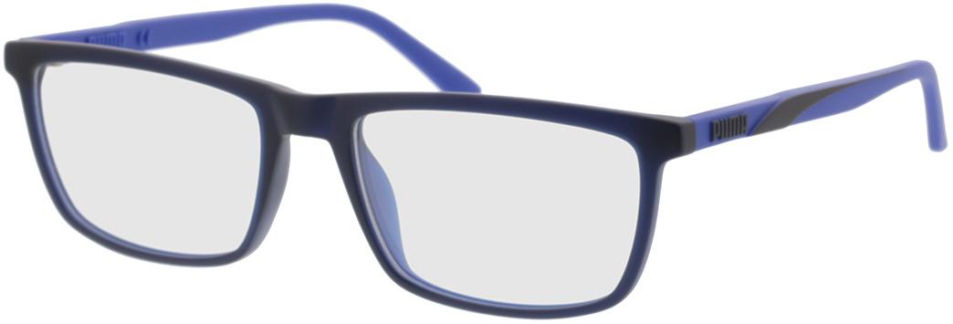 Picture of glasses model Puma PU0347O-002 56-18 in angle 330