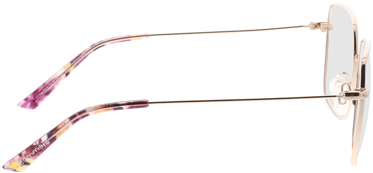 Picture of glasses model Comma, 70092 77 roos 53-16 in angle 90