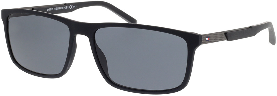 Picture of glasses model Tommy Hilfiger TH 1675/S 003 59-16 in angle 330