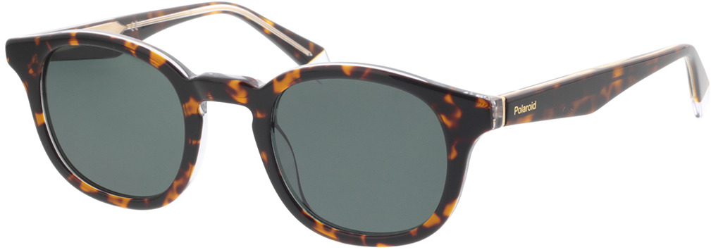 Picture of glasses model Polaroid PLD 2103/S/X KRZ 49-24 in angle 330