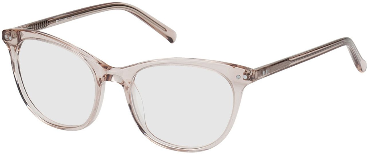 Picture of glasses model Lemberg-braun-transparent in angle 330