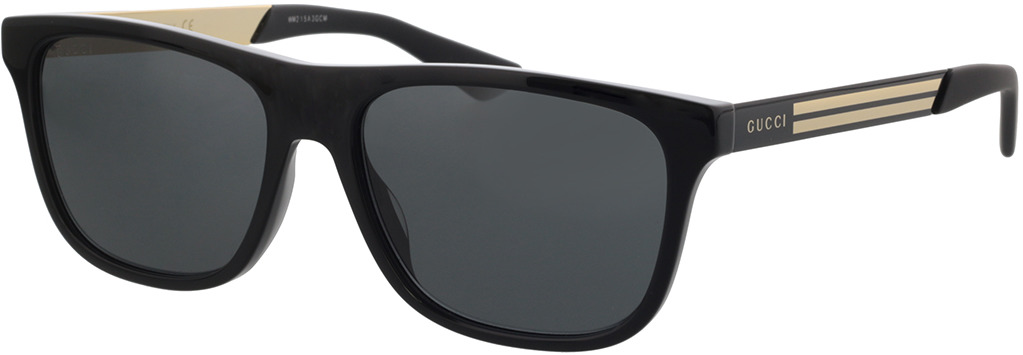 Picture of glasses model Gucci GG0687S-001 57-17 in angle 330
