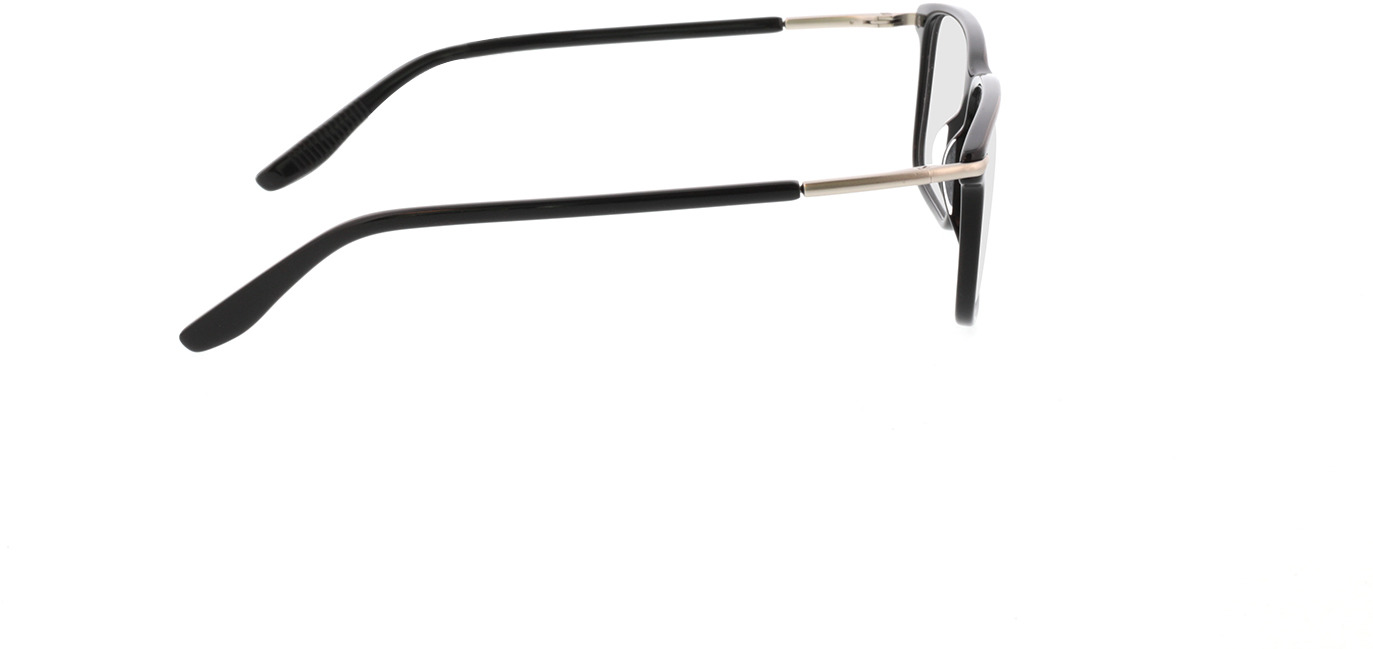 Picture of glasses model Adeo-schwarz in angle 90