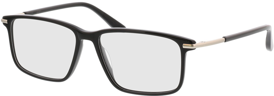 Picture of glasses model Adeo-schwarz in angle 330