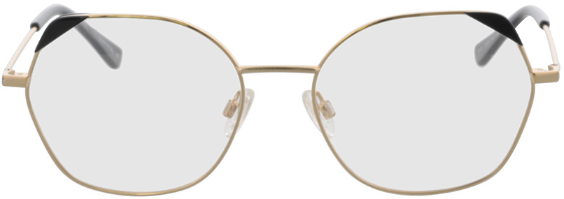 Picture of glasses model Comma, 70114 13 gold/black 54-17 in angle 0