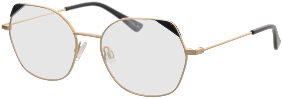 Picture of glasses model Comma, 70114 13 gold/black 54-17 in angle 330