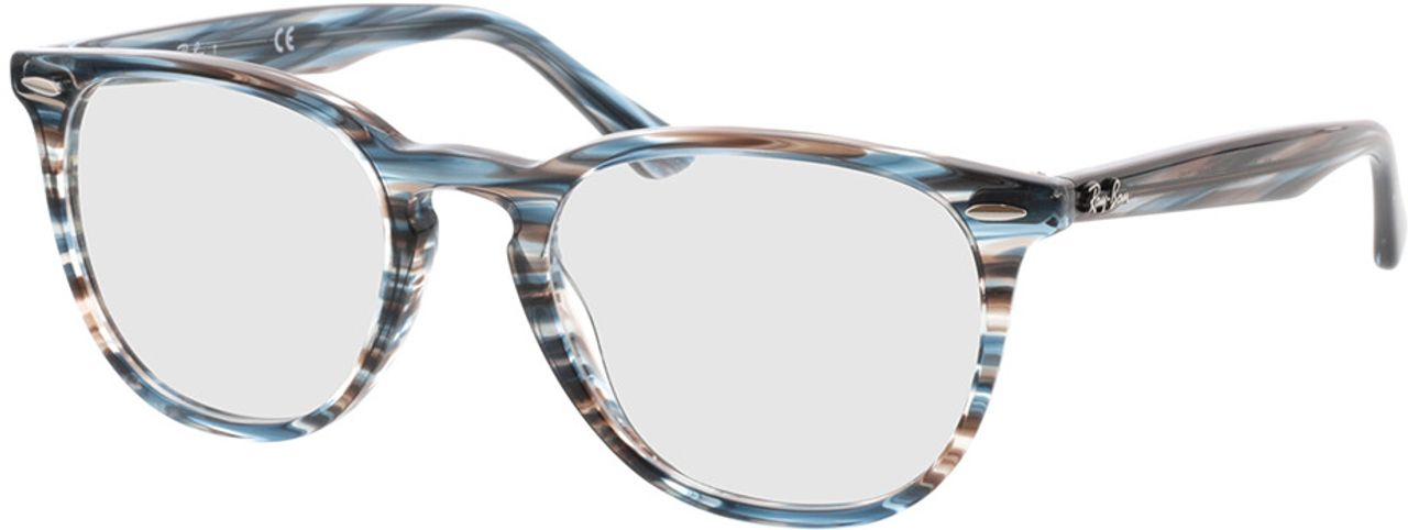 Picture of glasses model Ray-Ban RX7159 5750 52-20 in angle 330